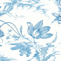 Floral Study in Blue, 2019