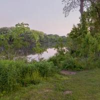 Lower Mill Pond (Dusk)