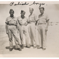 Polish Boys (snapshot from family photo album)